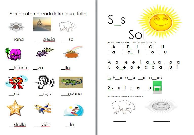 Actividades de lectoescritura para primer grado | Material Educativo