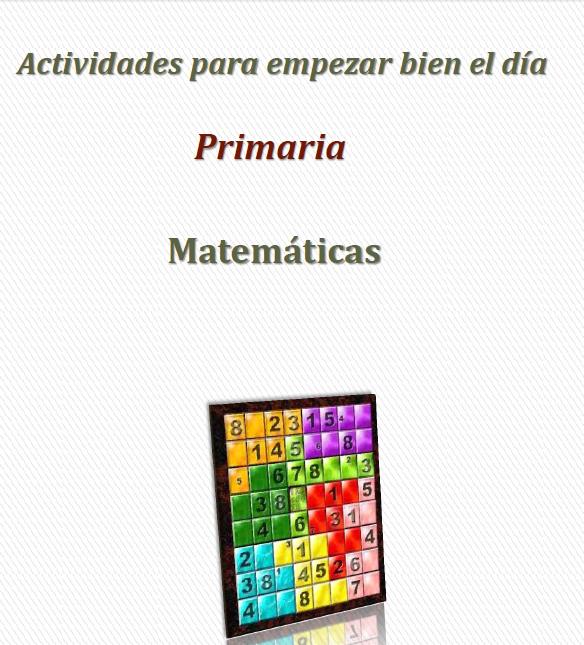 Actividades para empezar bien el d a primaria material for Actividades para el salon de clases de primaria