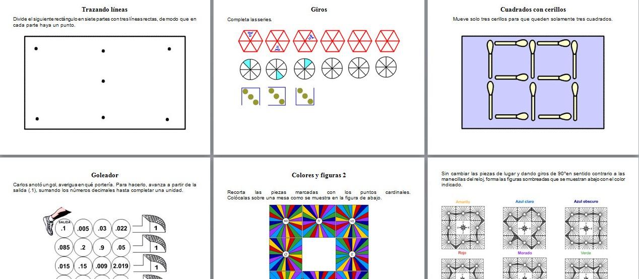 Actividades y ejercicios matemáticos para 6° grado | Material Educativo