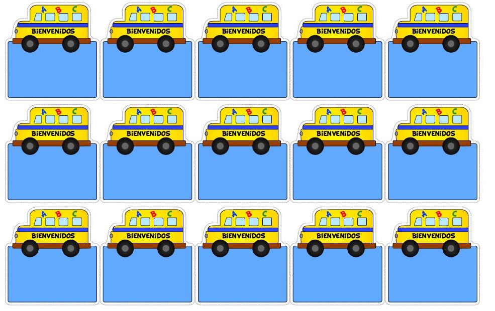 Imagenes Para Gafetes Preescolar Gafete Creativo Para Ni