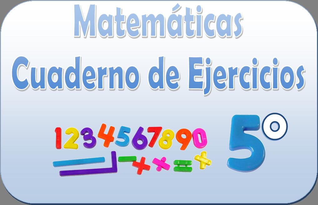 Matemáticas – Cuaderno de ejercicios para quinto grado   Material ...
