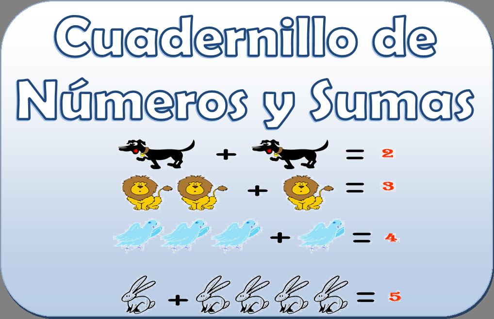 Cuadernillo de números y sumas para primer y segundo grado | Material
