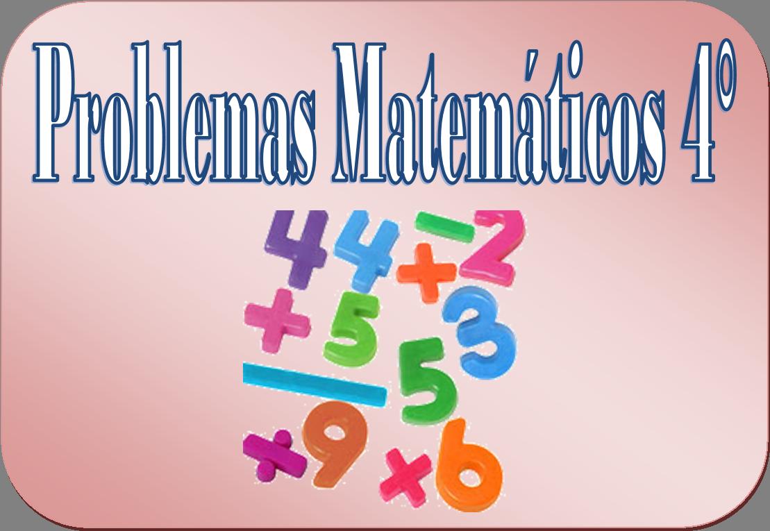 Problemas matemáticos para cuarto grado de primaria | Material Educativo