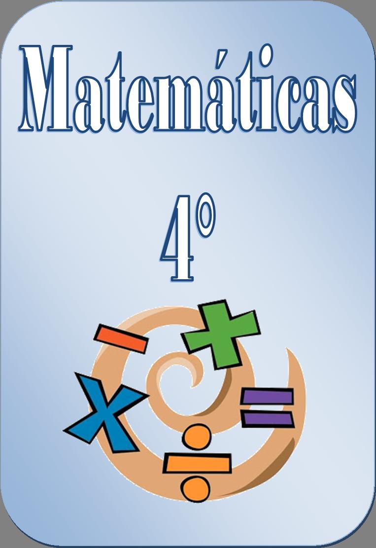 Cuadernillo de ejercicios matemáticos para cuarto grado | Material ...