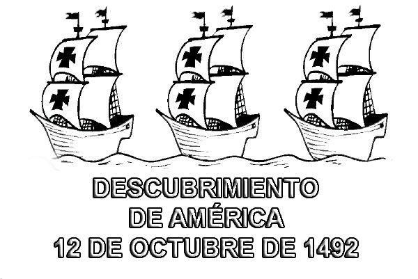 christopher columbus three ships coloring pages - actividades para el 12 de octubre descubrimiento de