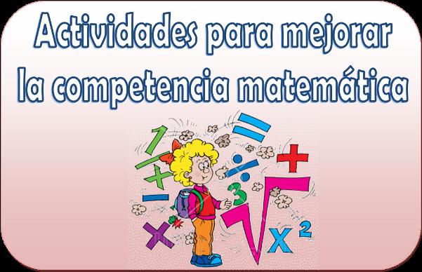 Resultado de imagen de actividades competencia matematica