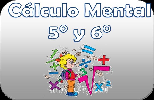 Cálculo mental para quinto y sexto grado de primaria | Material ...