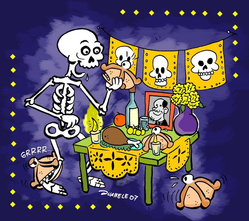 Guion teatral infantil del día de muertos – Material Educativo