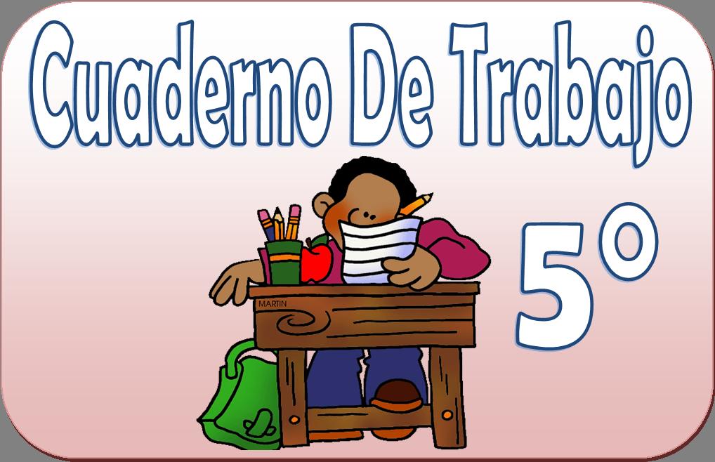 Cuaderno de trabajo para quinto grado de primaria | Material Educativo