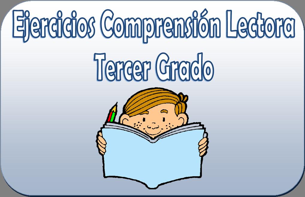 Ejercicios de comprensión lectora para tercer grado de primaria ...