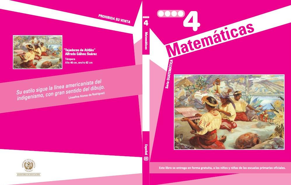 Guatemática para cuarto grado | Material Educativo
