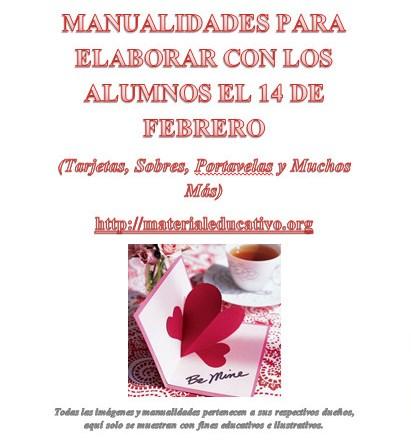 Manualidades e ideas para elaborar el 14 de febrero for Manualidades e ideas