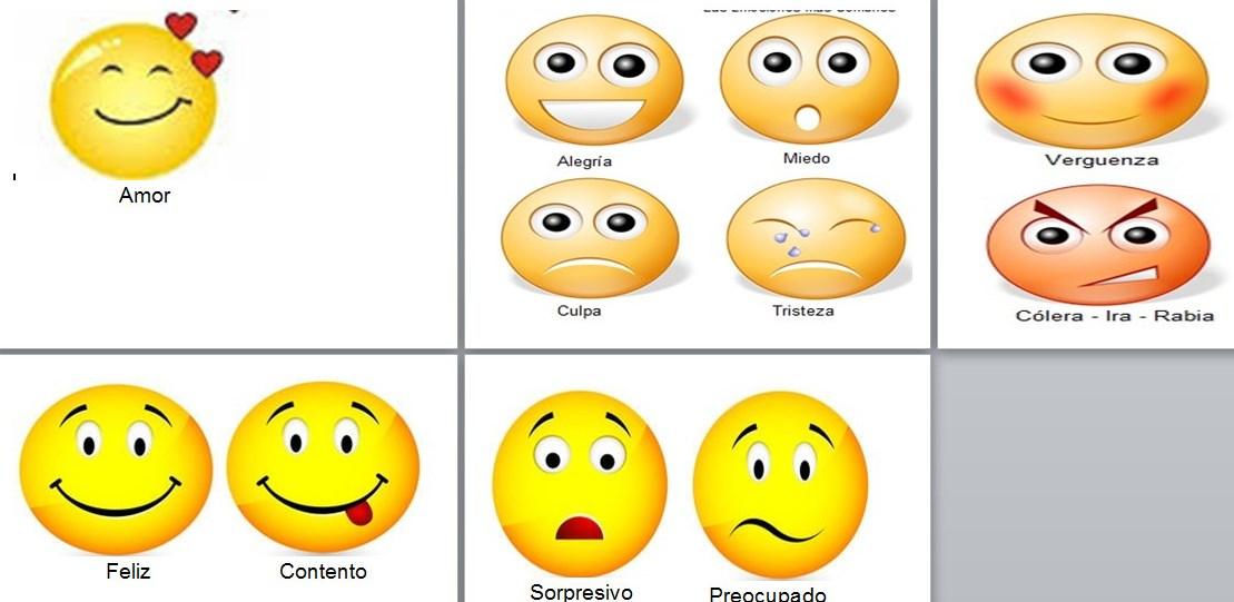 Imagenes De Caritas De Emociones