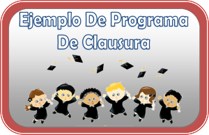 ProgramaDeClausura