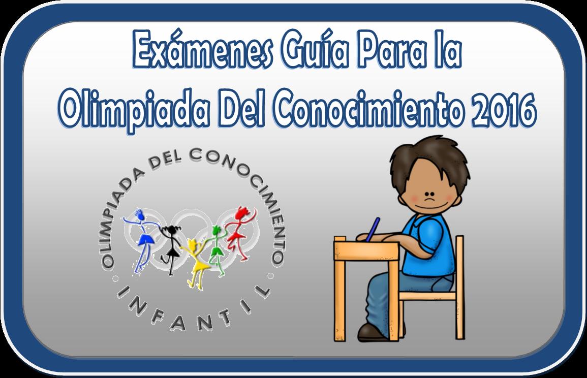 Ex menes de ayuda para la olimpiada del conocimiento 2016 for Examen para plazas docentes 2017