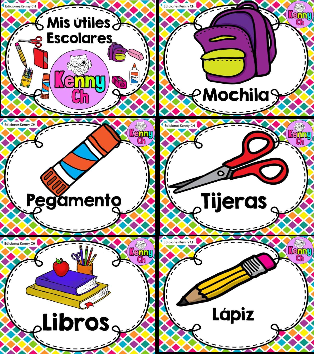 Diseños fabulosos de útiles escolares | Material Educativo