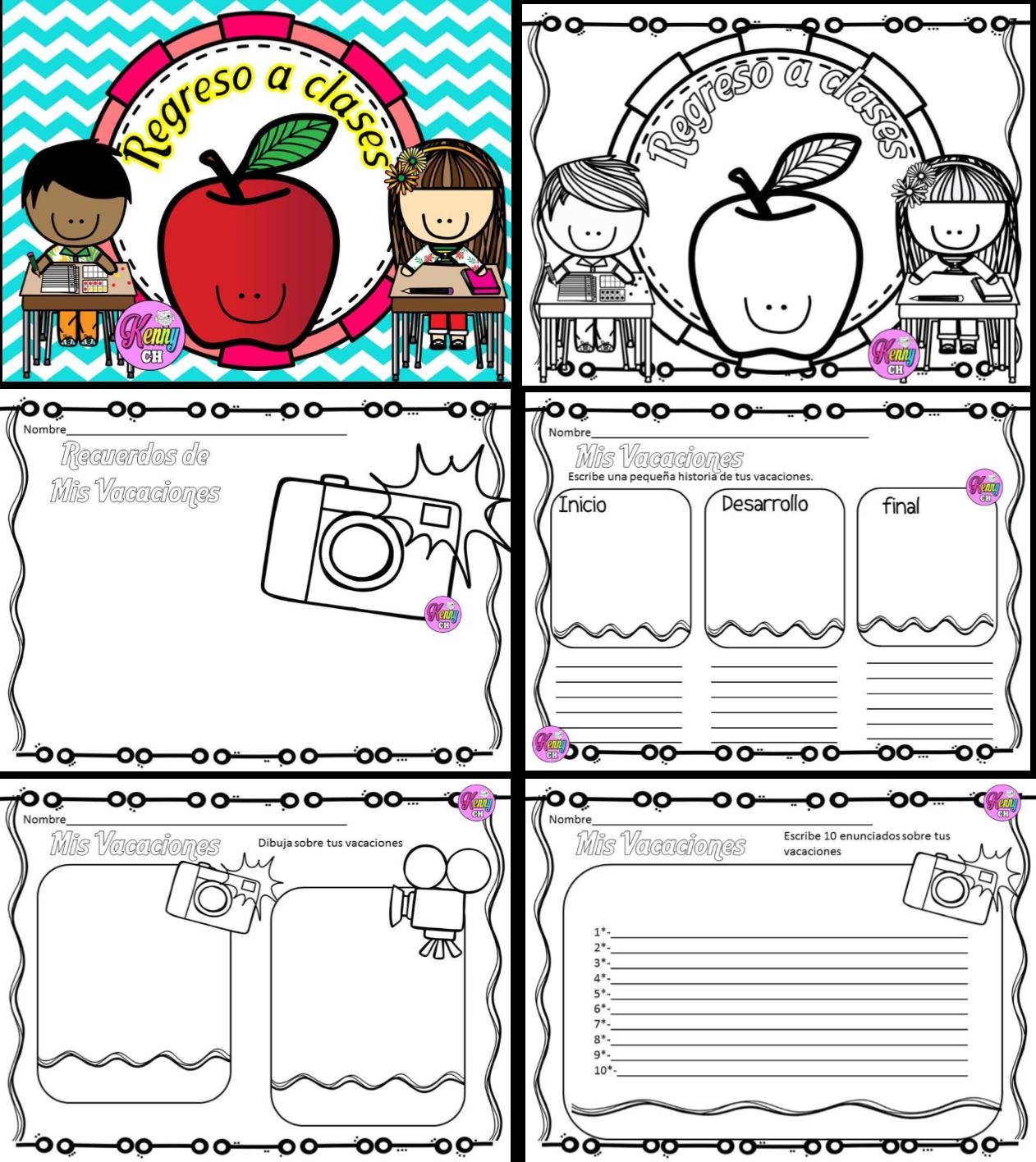 Regreso a clases material educativo for Actividades para el salon de clases de primaria