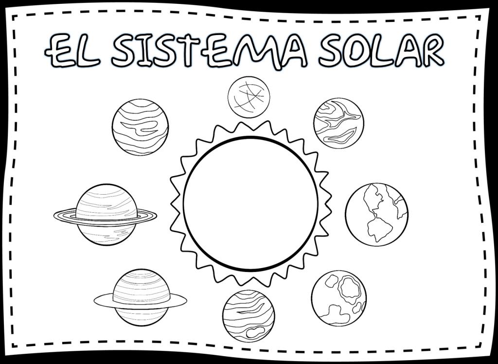 Cuadernillo de actividades del sistema solar  Material ...