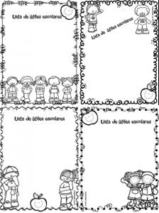 FormatoUtilesEscolares