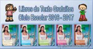 Libros De Texto Gratuitos 2016-2017