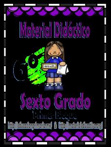 MaterialDidactico6toGrado