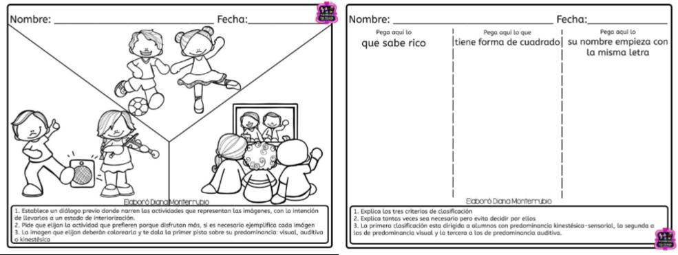 Test de estilos de aprendizajes para preescolar, primer y segundo ...