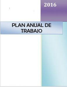 PlanAnualDeTrabajo2016