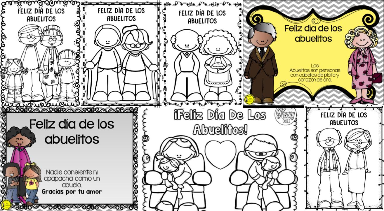 Estupendas imágenes y diseños para celebrar el día de los abuelos ...