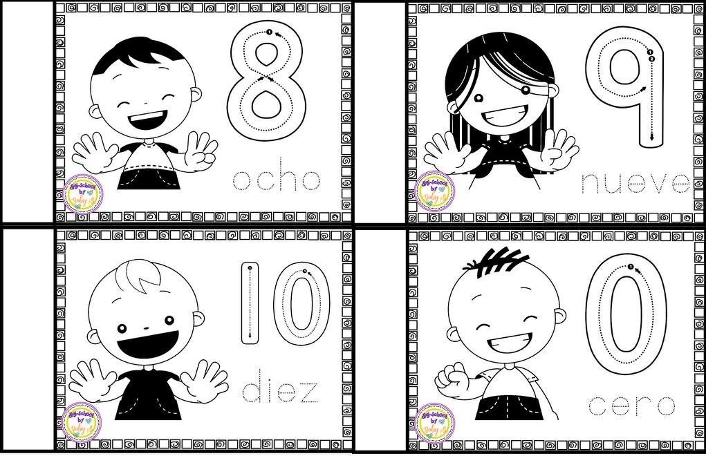 los nmeros en preescolar - photo #15