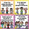 Excelentes diseños de normas de convivencia escolar para el aprendizaje y el orden grupal