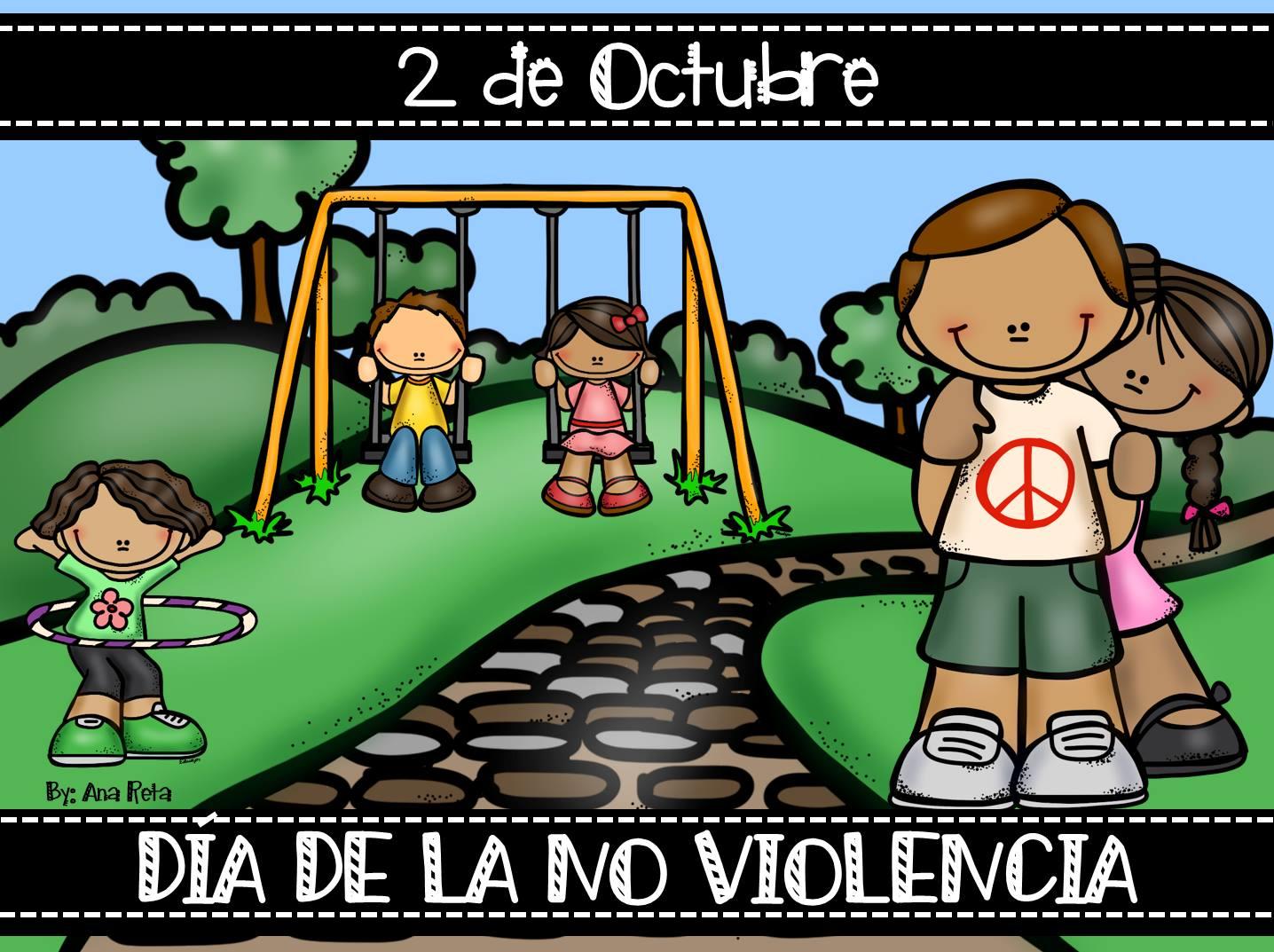 paz, no violencia, corazon, gif, efemérides, 2 de octubre,