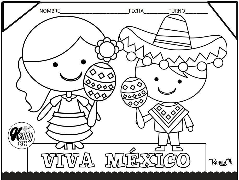 Bonitos diseños a color y en blanco y negro para colorear y celebrar ...