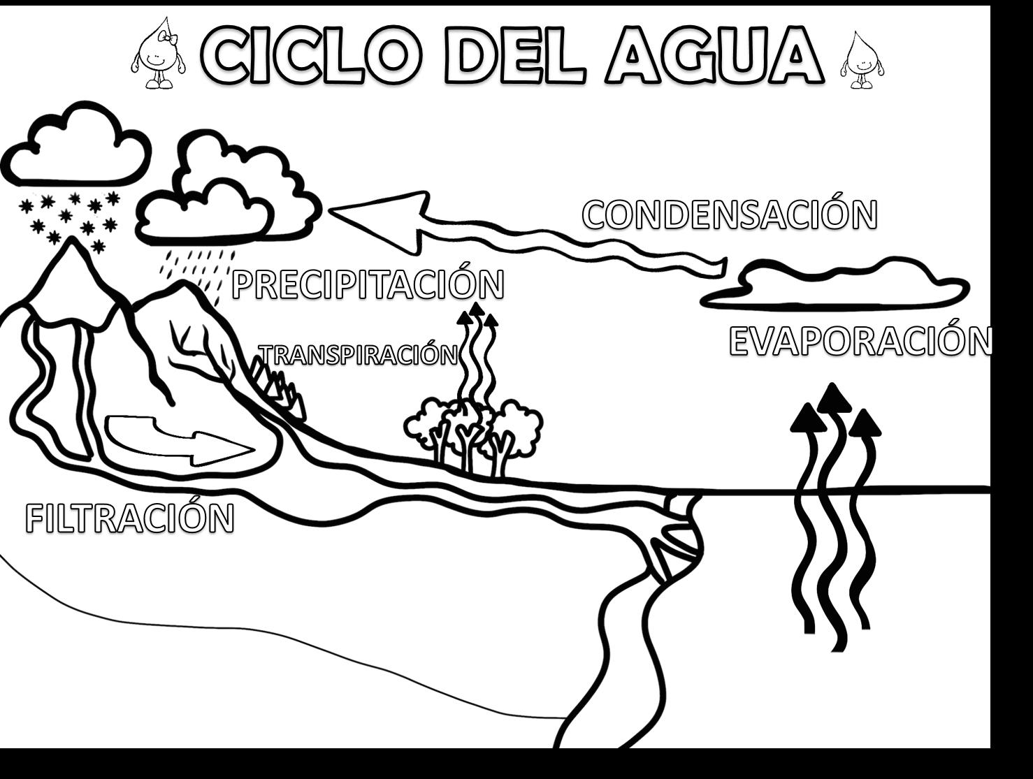 Fabuloso Cuadernillo Interactivo Del Ciclo Del Agua Material Educativo