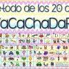 Excelente diseño original del método de los 20 días Vacachadafa