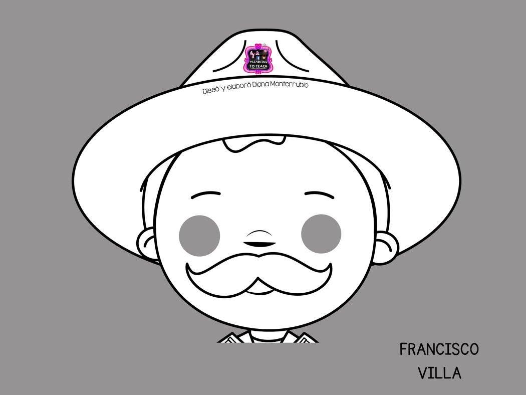 Estupendas Mascaras De Personajes De La Revolución Mexicana