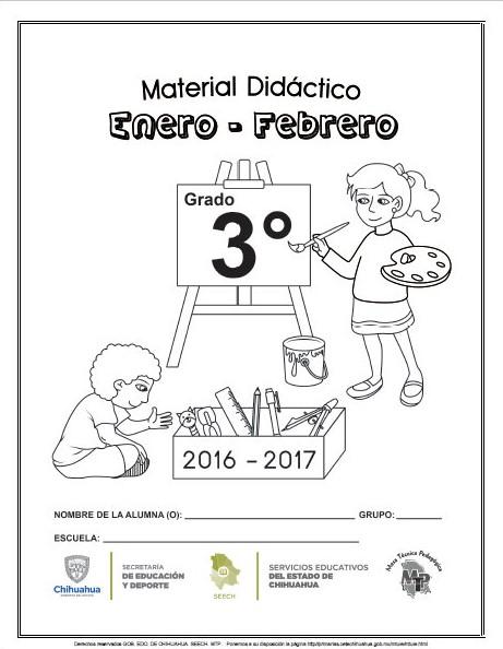 Material didáctico de apoyo del tercer grado para el tercer bloque ...