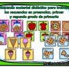 Estupendo material didáctico para trabajar las secuencias en preescolar, primer y segundo grado de primaria