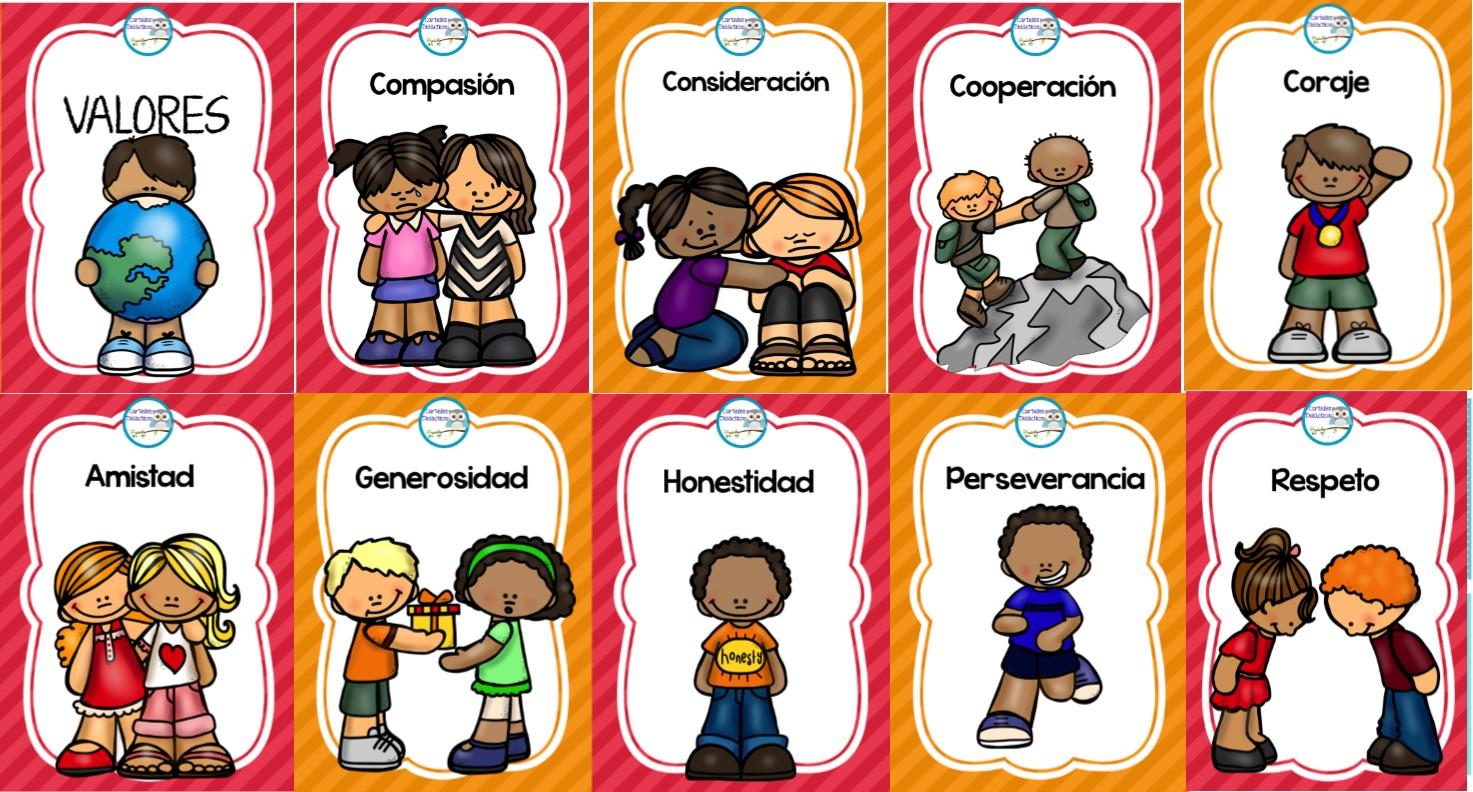 Geniales diseños para enseñar y aprender los valores en la ...