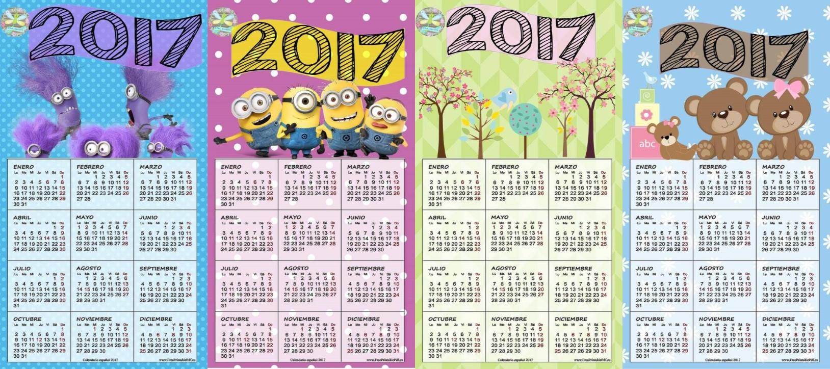 Excelentes y fabulosos dise os de calendarios del nuevo - Disenos de calendarios ...