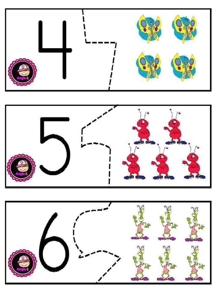 los nmeros en preescolar - photo #20