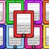 Estupendas tablets para fomentar la escritura en preescolar, primer y segundo grado de primaria