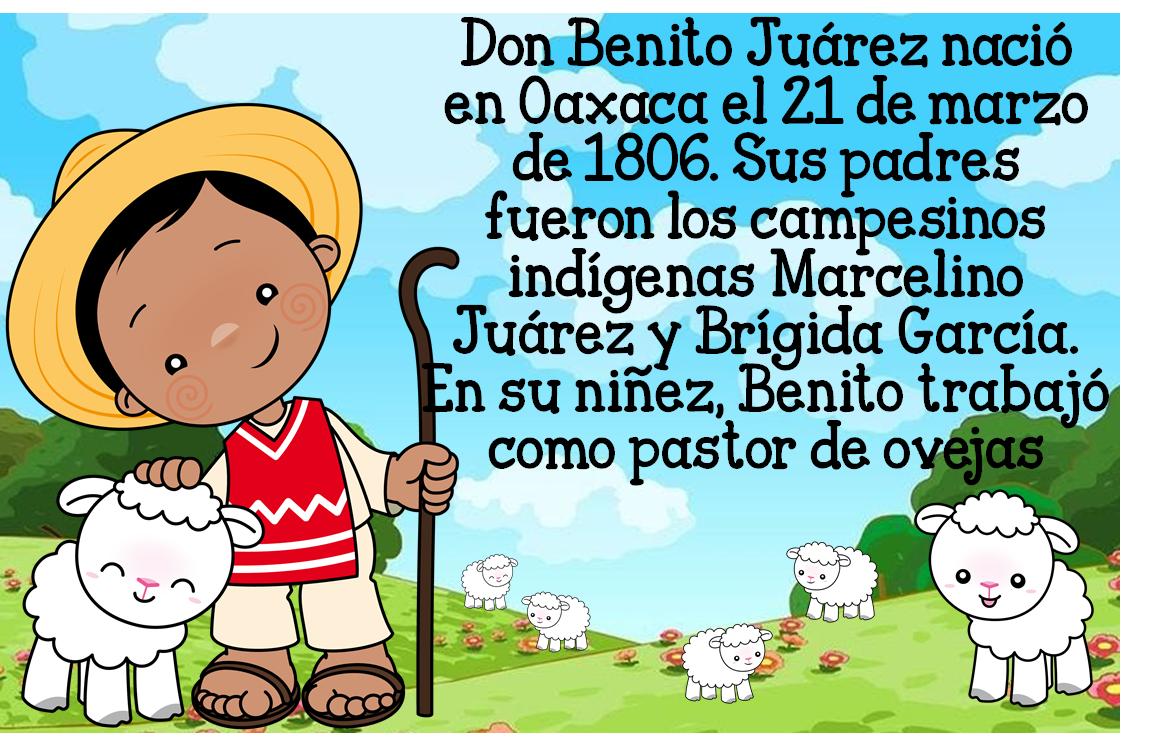 Maravillosa Biografía O Cuento De Don Benito Juárez Material Educativo