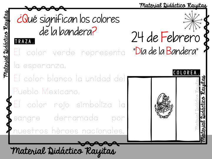 Fabulosas actividades para conmemorar el día de la Bandera 24 de ...