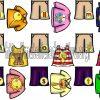 Fantástico abecedario ilustrado con prendas de vestir