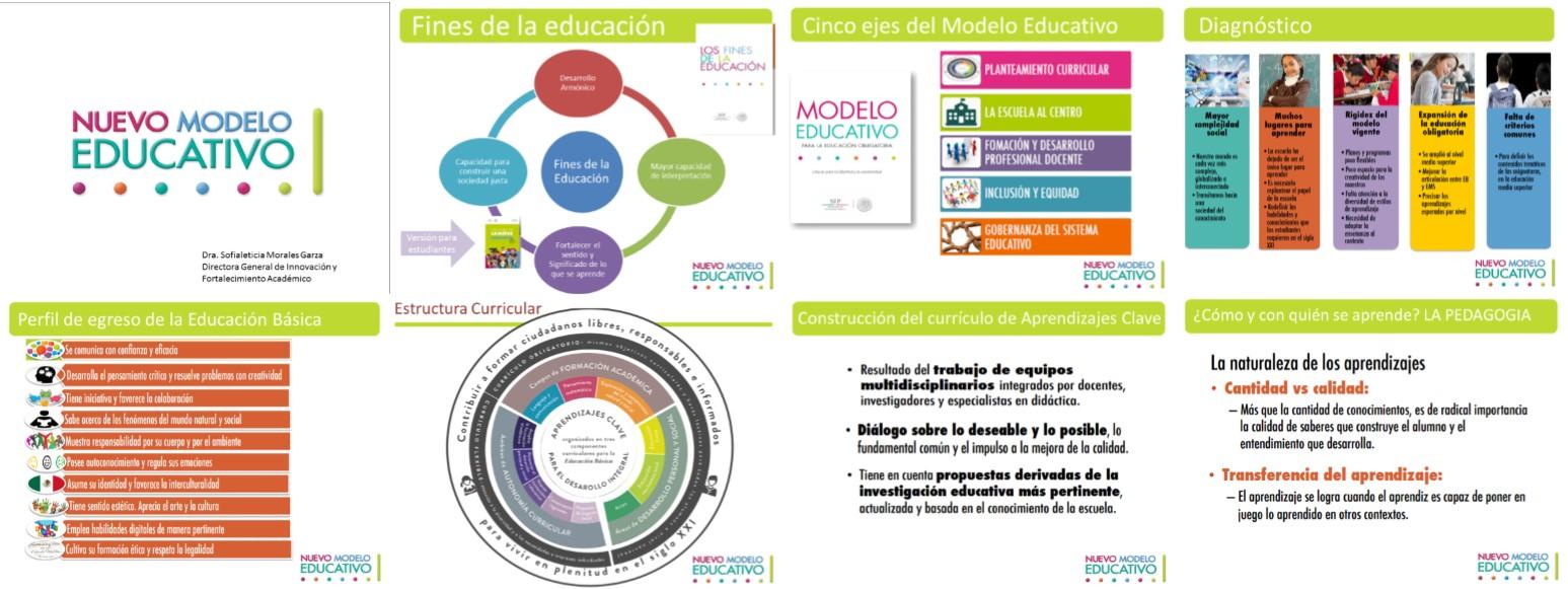 Estupendo resumen del nuevo modelo educativo 2017 for Nuevo curriculo de educacion inicial