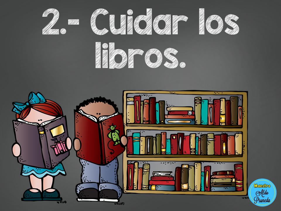 Llamativo Diseño Del Reglamento De La Biblioteca Escolar