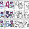 Bonitos diseños de números con dulces del 1 al 10