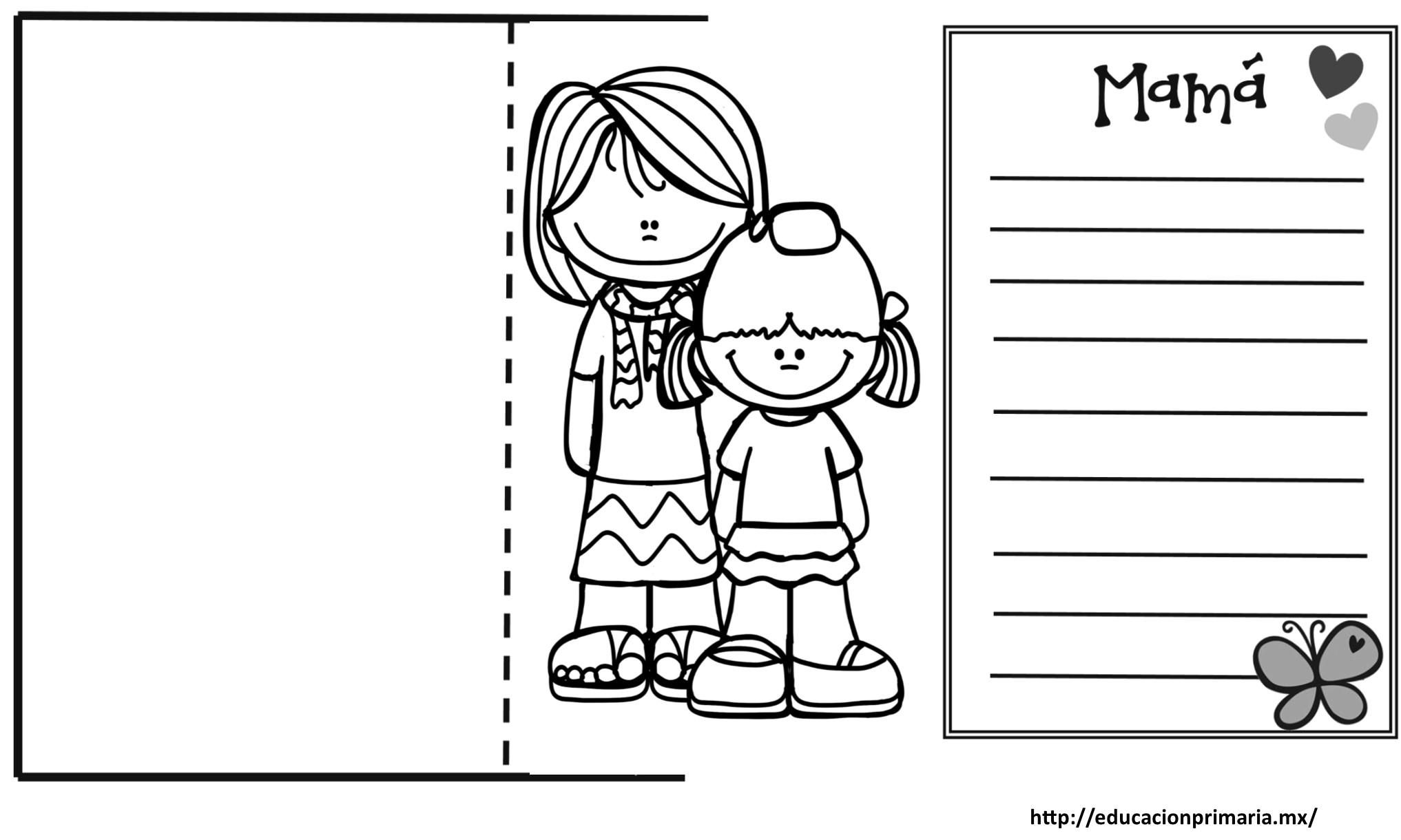 Lindas tarjetas creativas para regalar a mamá el día de las madres ...
