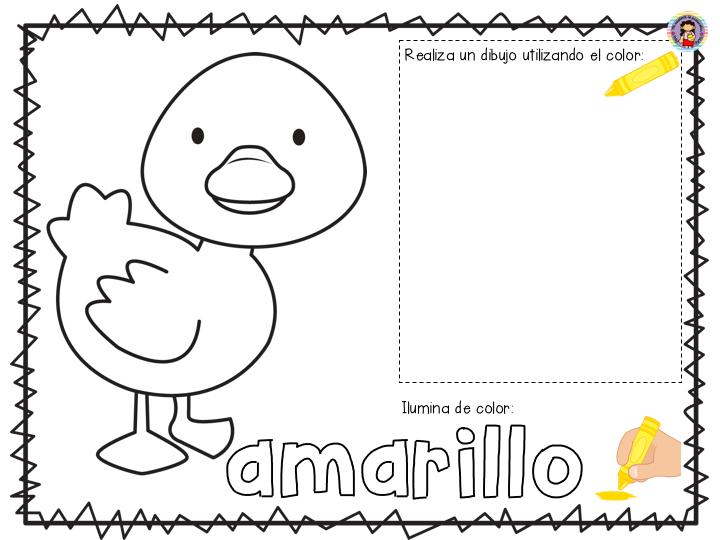 Maravilloso álbum De Colores Para Preescolar, Primer Y