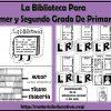 Fabulosas actividades sobre la biblioteca para primer y segundo grado de primaria